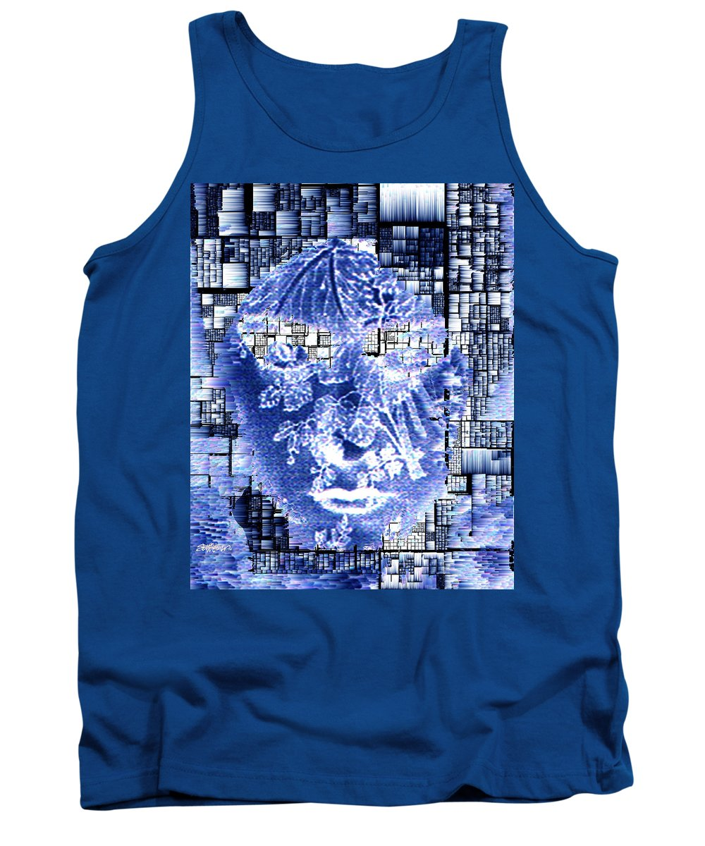 Mask Tank Top featuring the photograph Mask Of The Great Lady by Seth Weaver