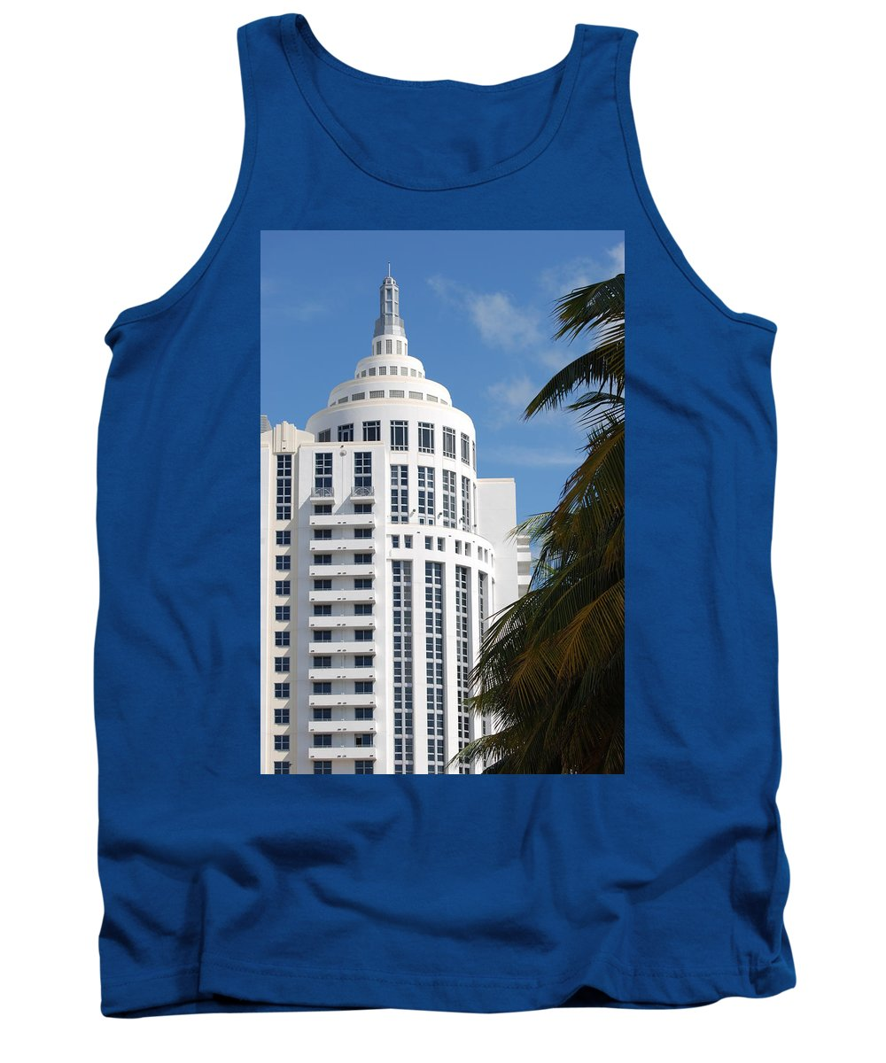 Architecture Tank Top featuring the photograph Miami S Capitol Building by Rob Hans