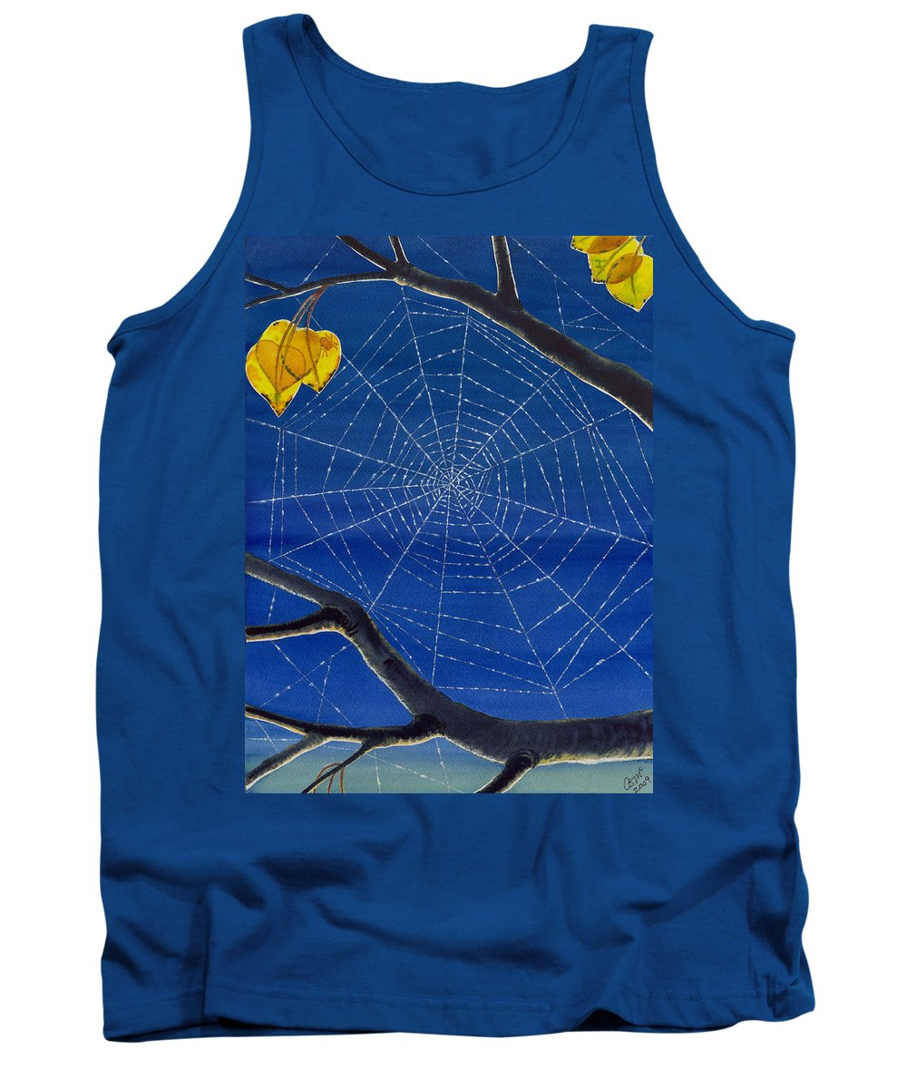 Aspen Tank Top featuring the painting Morning Magic by Catherine G McElroy