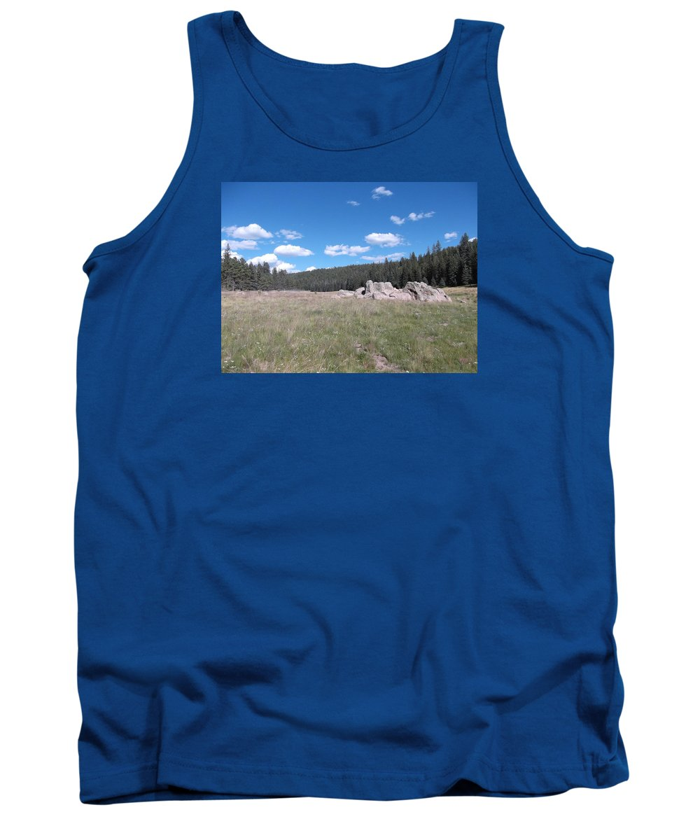 Tank Top featuring the photograph Mountain Meadow Above Cuba,nm by Curtis Willis