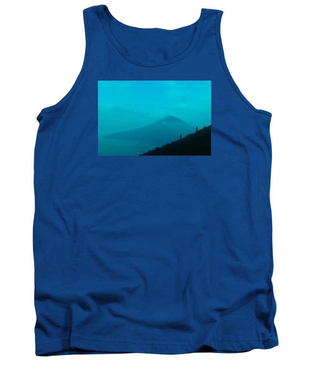 Mount Tank Top featuring the photograph Mt Krakatoa by W Fifi Andriasih