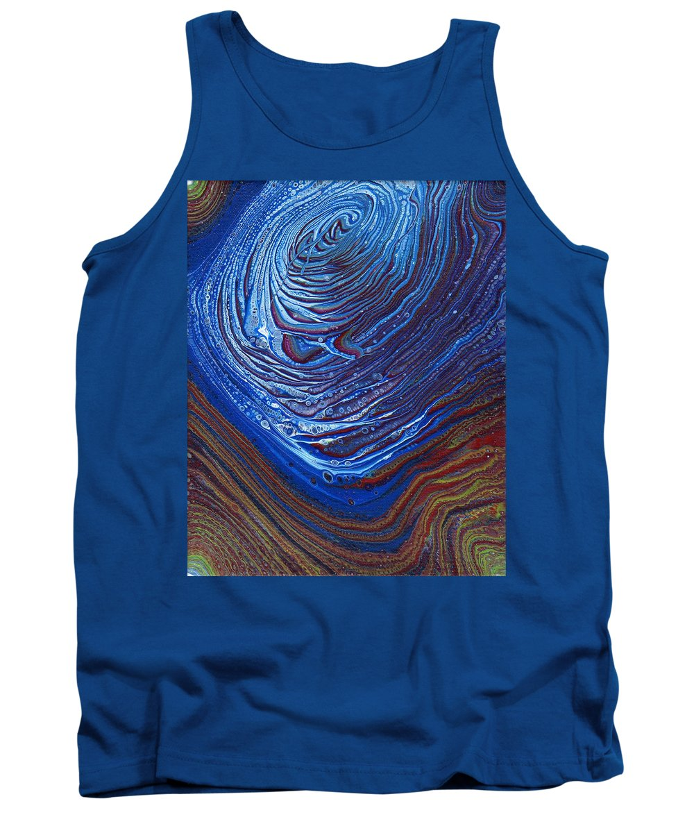 Tank Top featuring the painting Nature's Prints 2 by Daniel Taylor