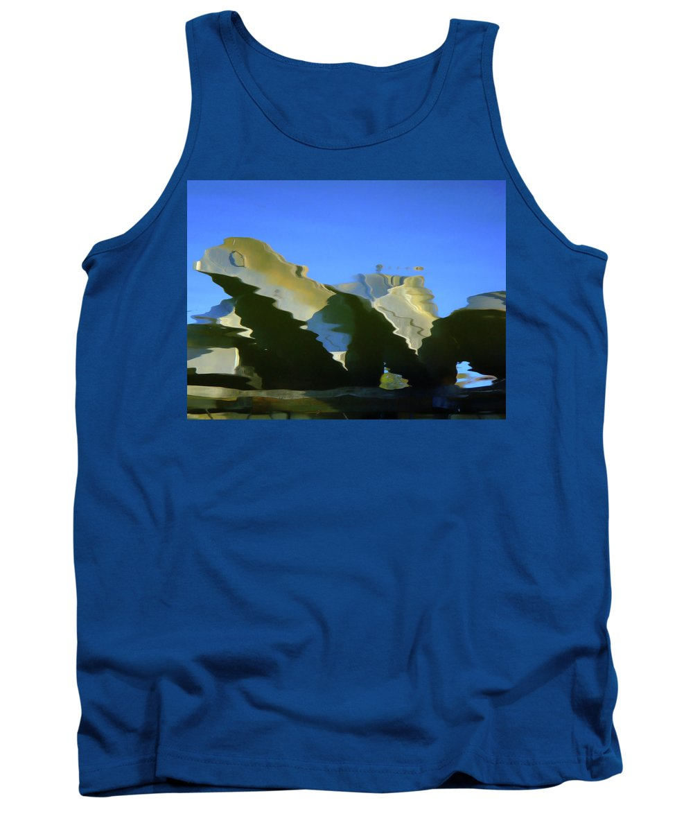 Water Tank Top featuring the photograph Nautical by Donna Blackhall