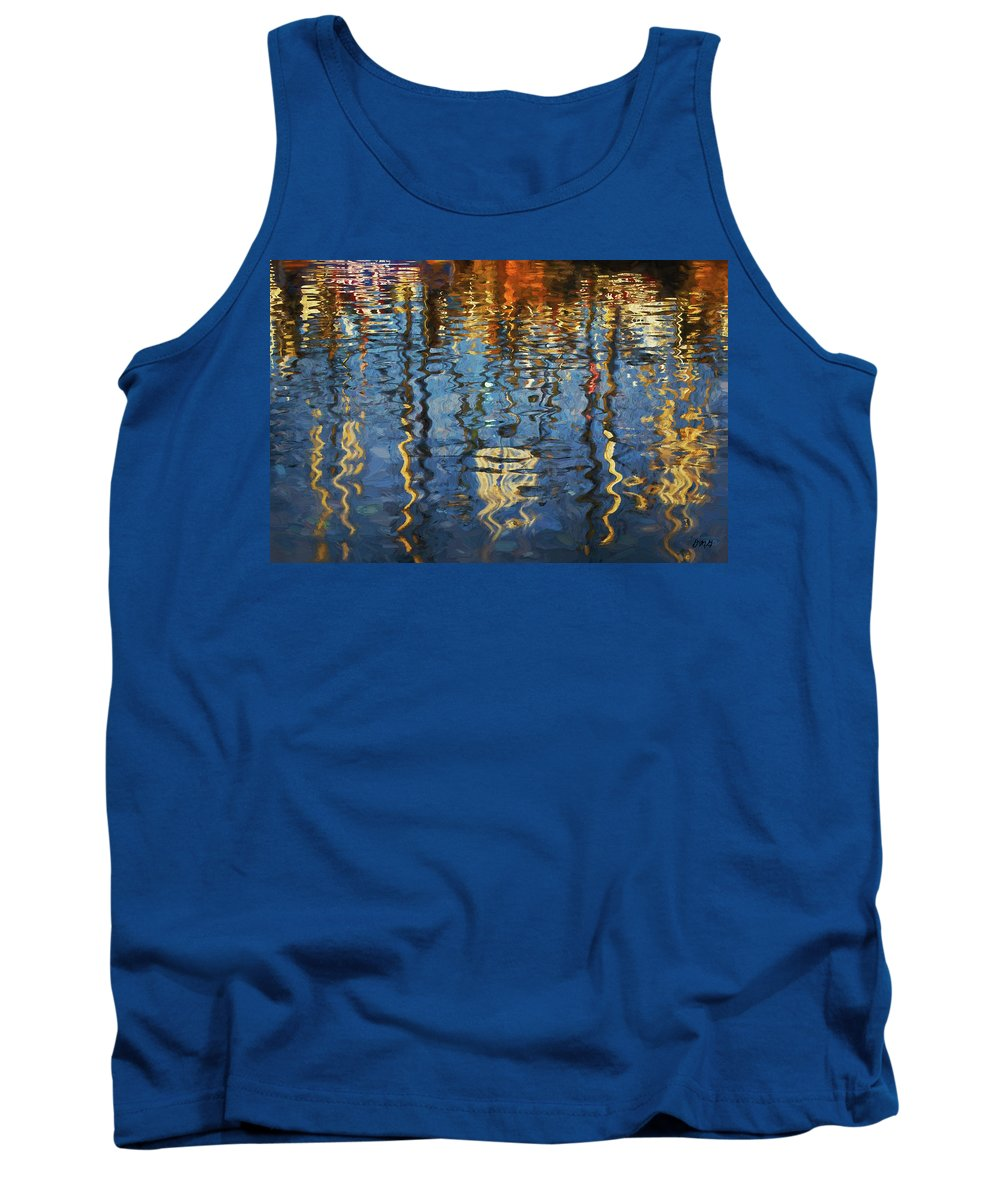 New Bedford Tank Top featuring the photograph New Bedford Waterfront No. 5 by David Gordon