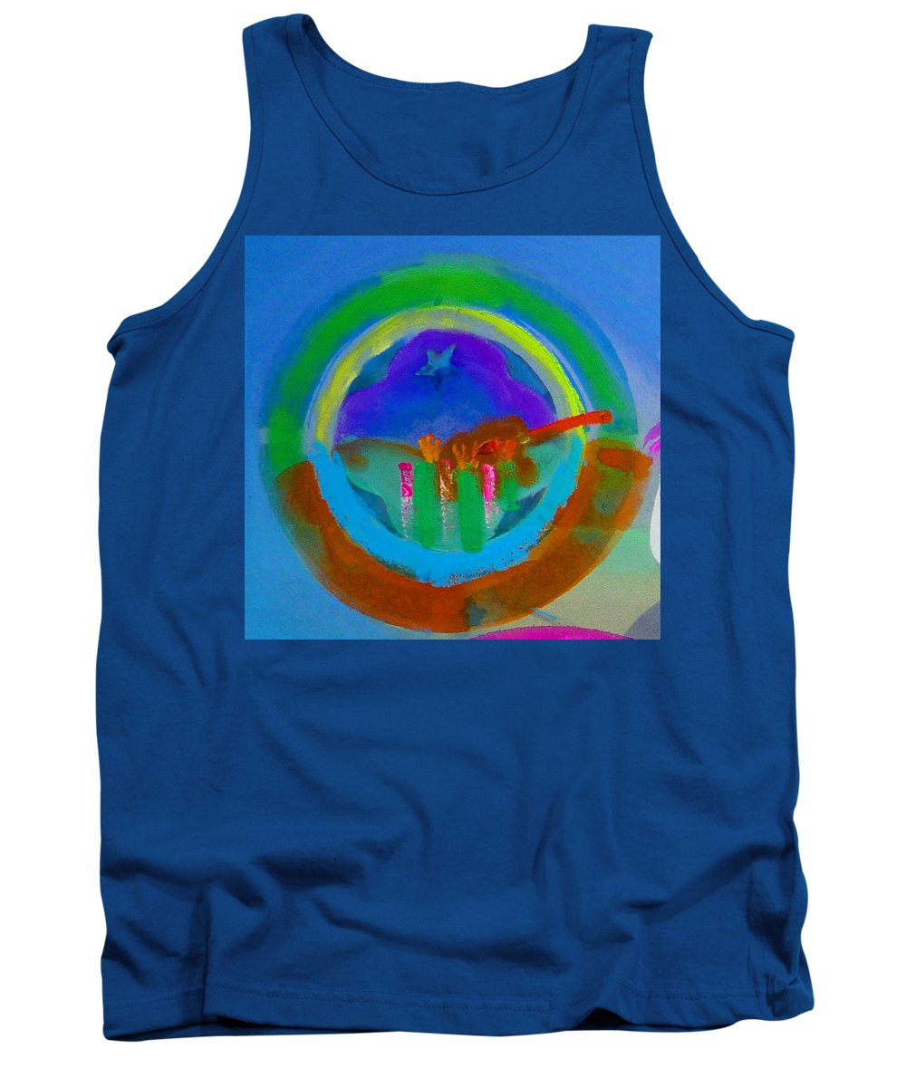 Love Tank Top featuring the painting New World Spring by Charles Stuart