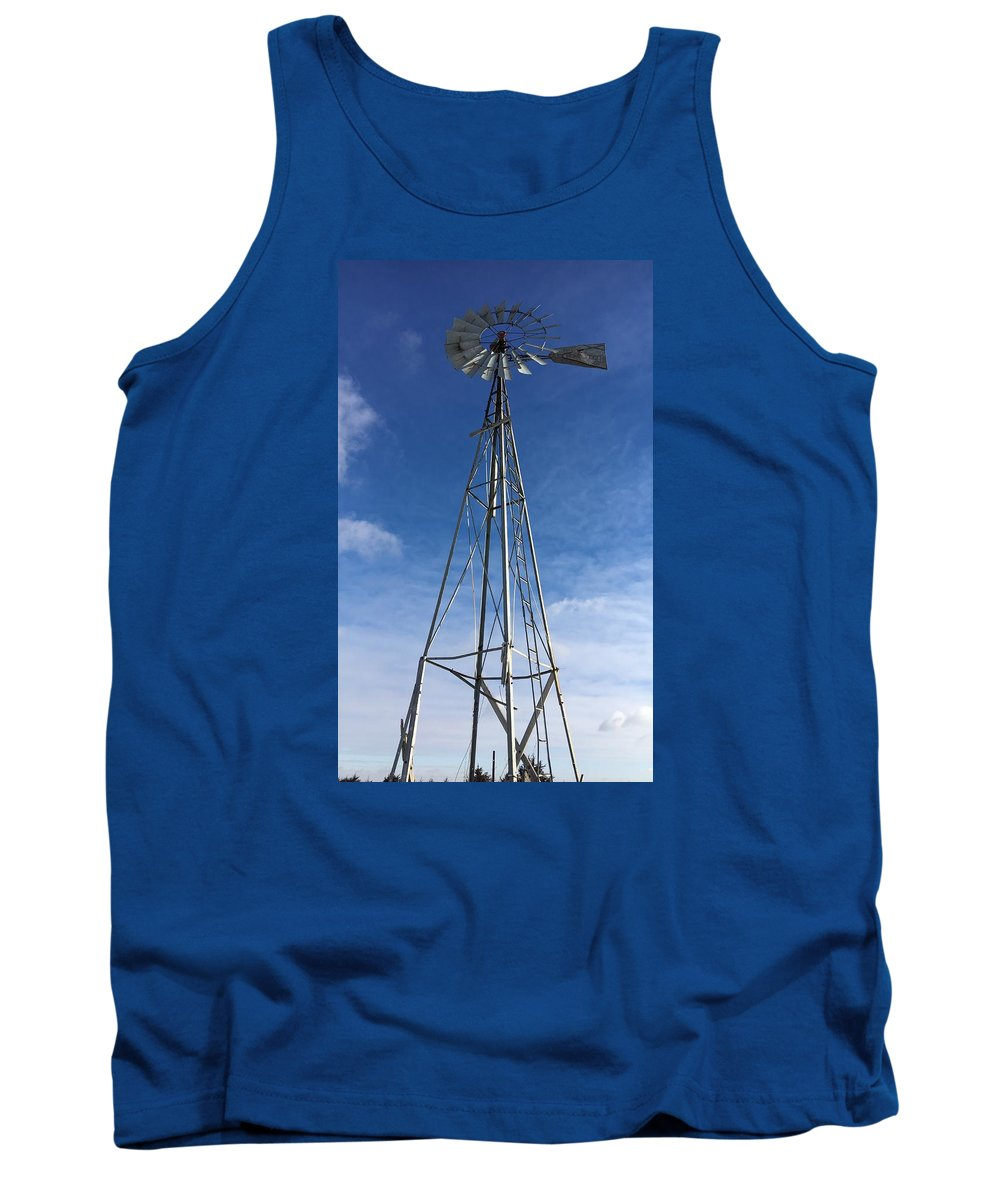 Tank Top featuring the photograph North Windmill by Kyle Mock