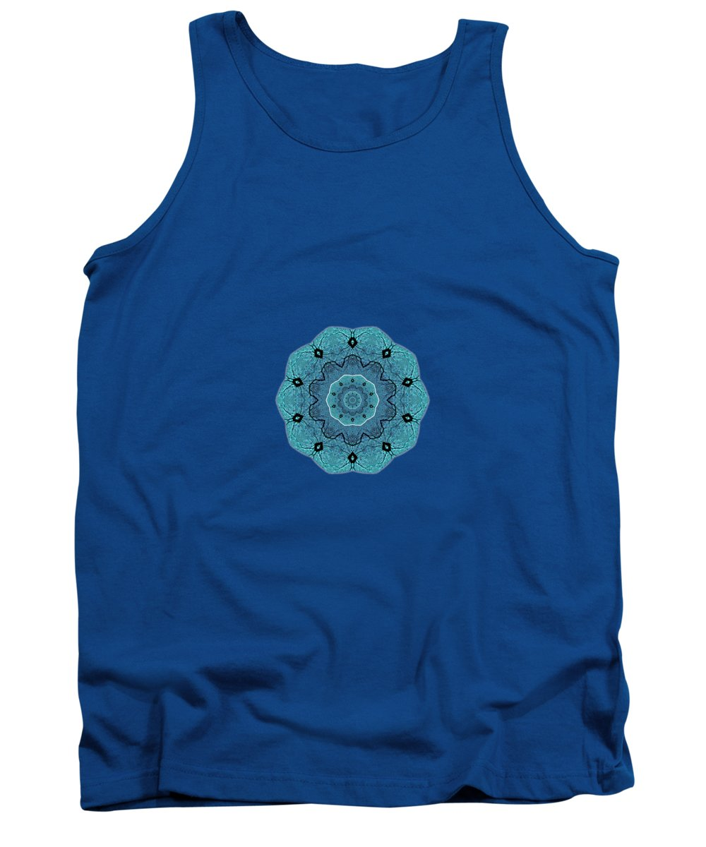Blue Wave Tank Tops