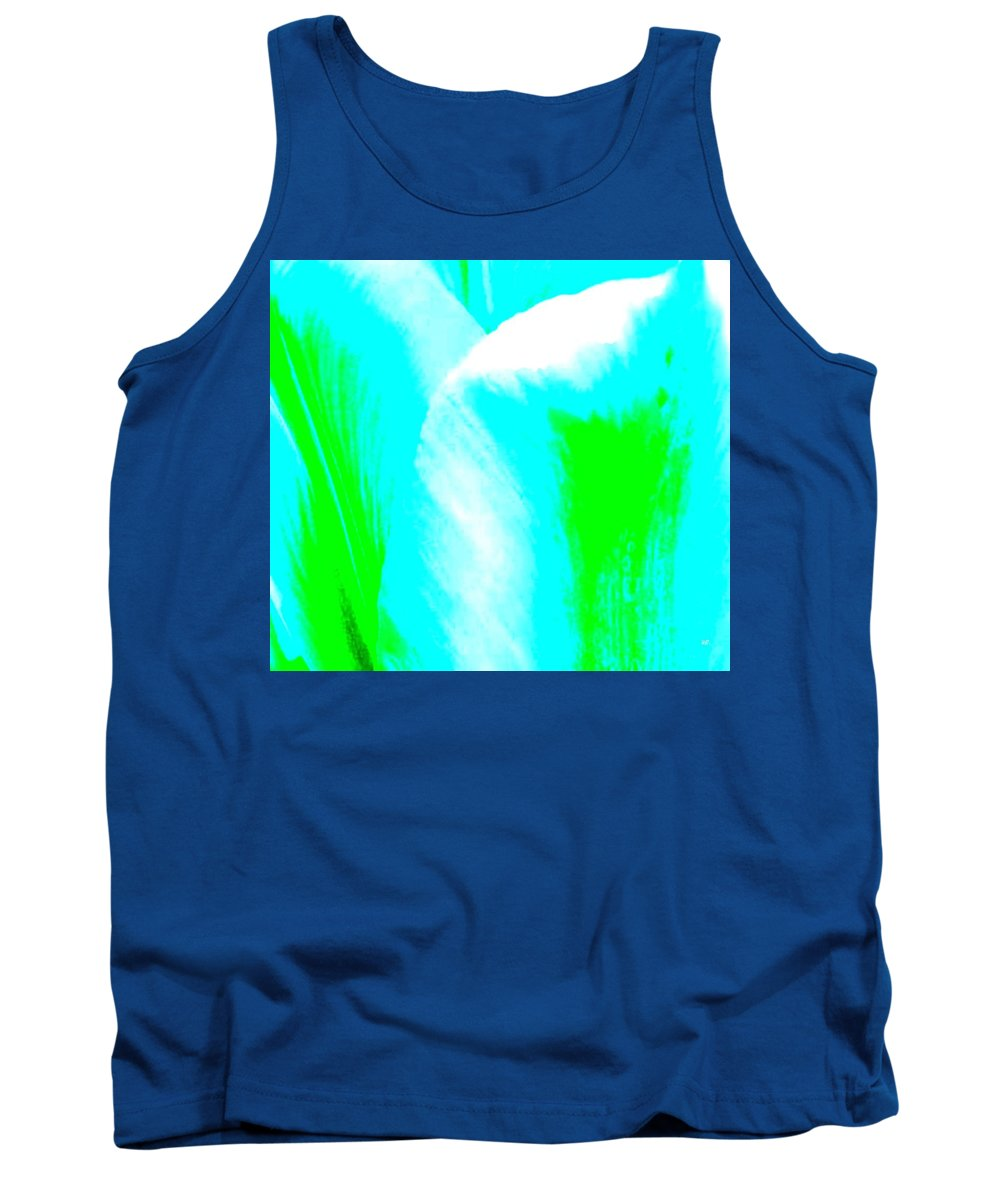 Abstract Tank Top featuring the digital art Park Avenue Tulip by Will Borden