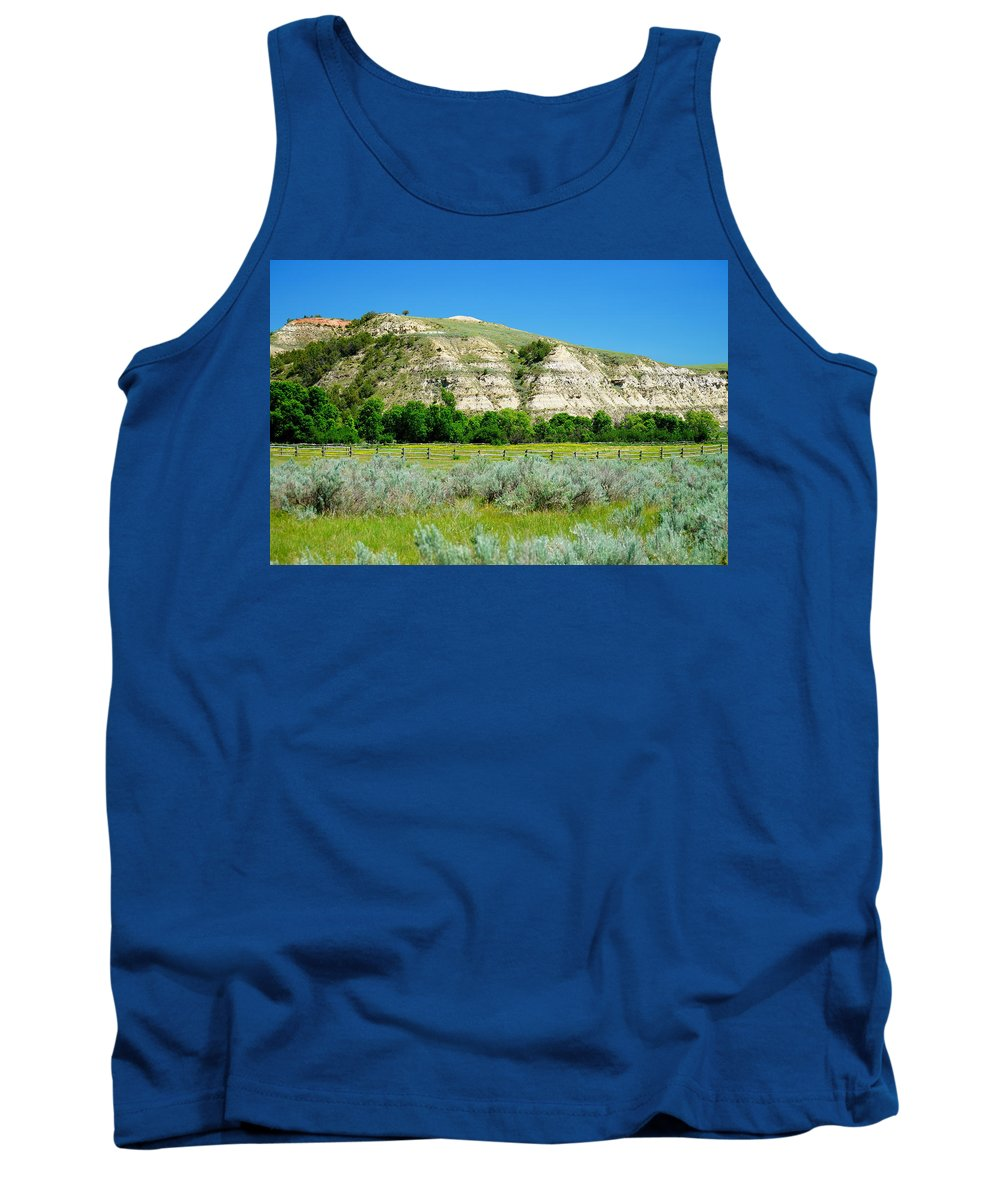 Badlands Tank Top featuring the photograph Peaceful Valley by Beth Collins