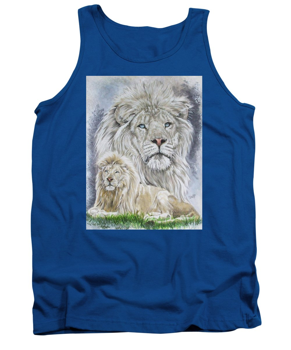 Art Tank Top featuring the mixed media Phantasy by Barbara Keith