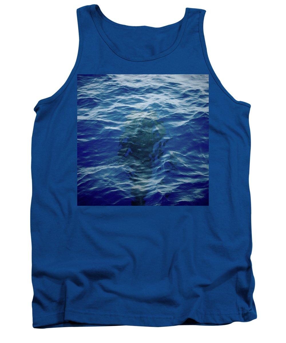 Valasretki Tank Top featuring the photograph Pilot Whale 9 The Mermaid by Jouko Lehto
