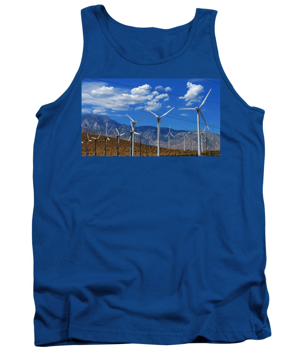 Prevailing Tank Top featuring the photograph Prevailing by Skip Hunt