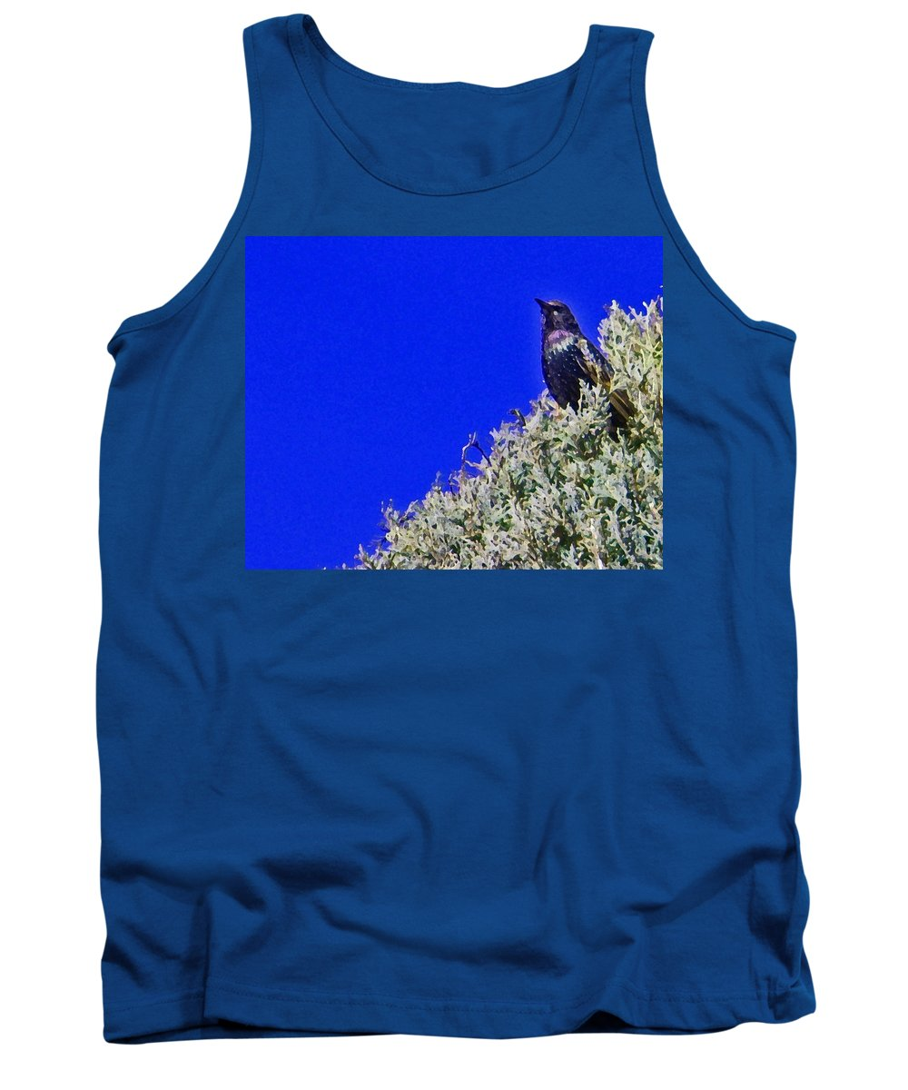Abstract Tank Top featuring the photograph Queen Of My Domain by Lenore Senior