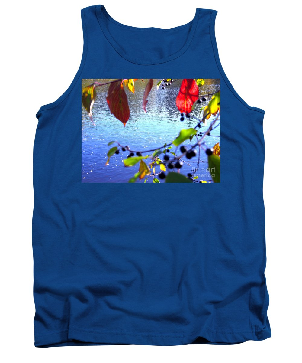 Water Tank Top featuring the photograph Refreshing View by Sybil Staples