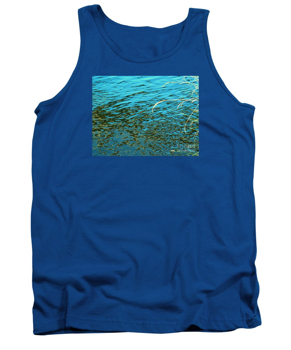 Water Tank Top featuring the photograph Reveal It by Sybil Staples