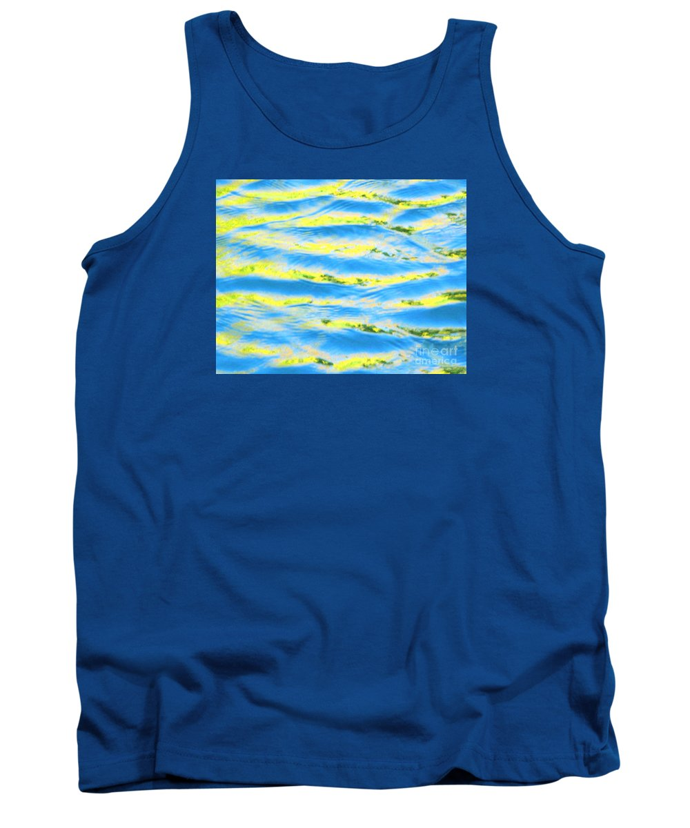 Calm Tank Top featuring the photograph Riding A Wave by Sybil Staples