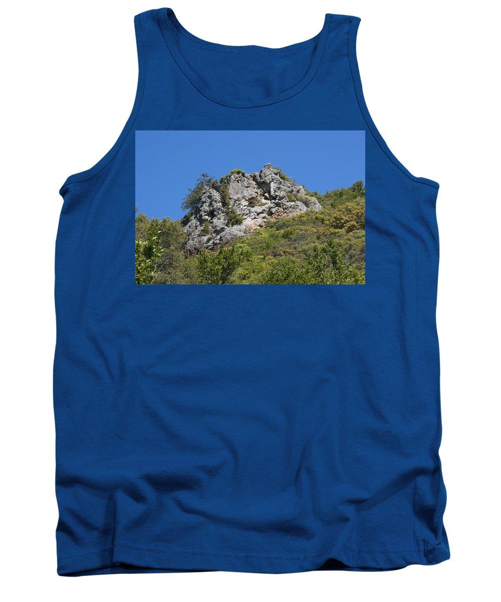 Mount Tamalpais Tank Top featuring the photograph Rock On Tamalpais by Ben Upham III
