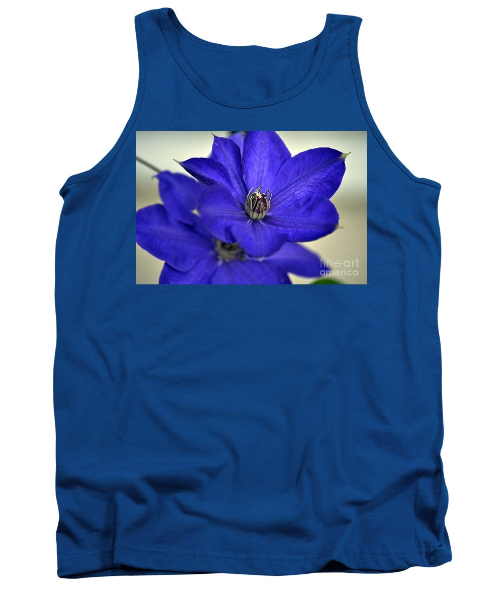 Clay Tank Top featuring the photograph Sea Of Blue by Clayton Bruster