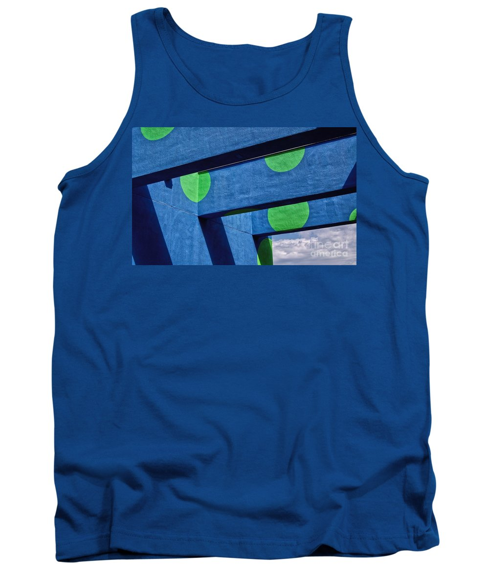 Archway Tank Top featuring the photograph Sky Archway by Merrimon Crawford