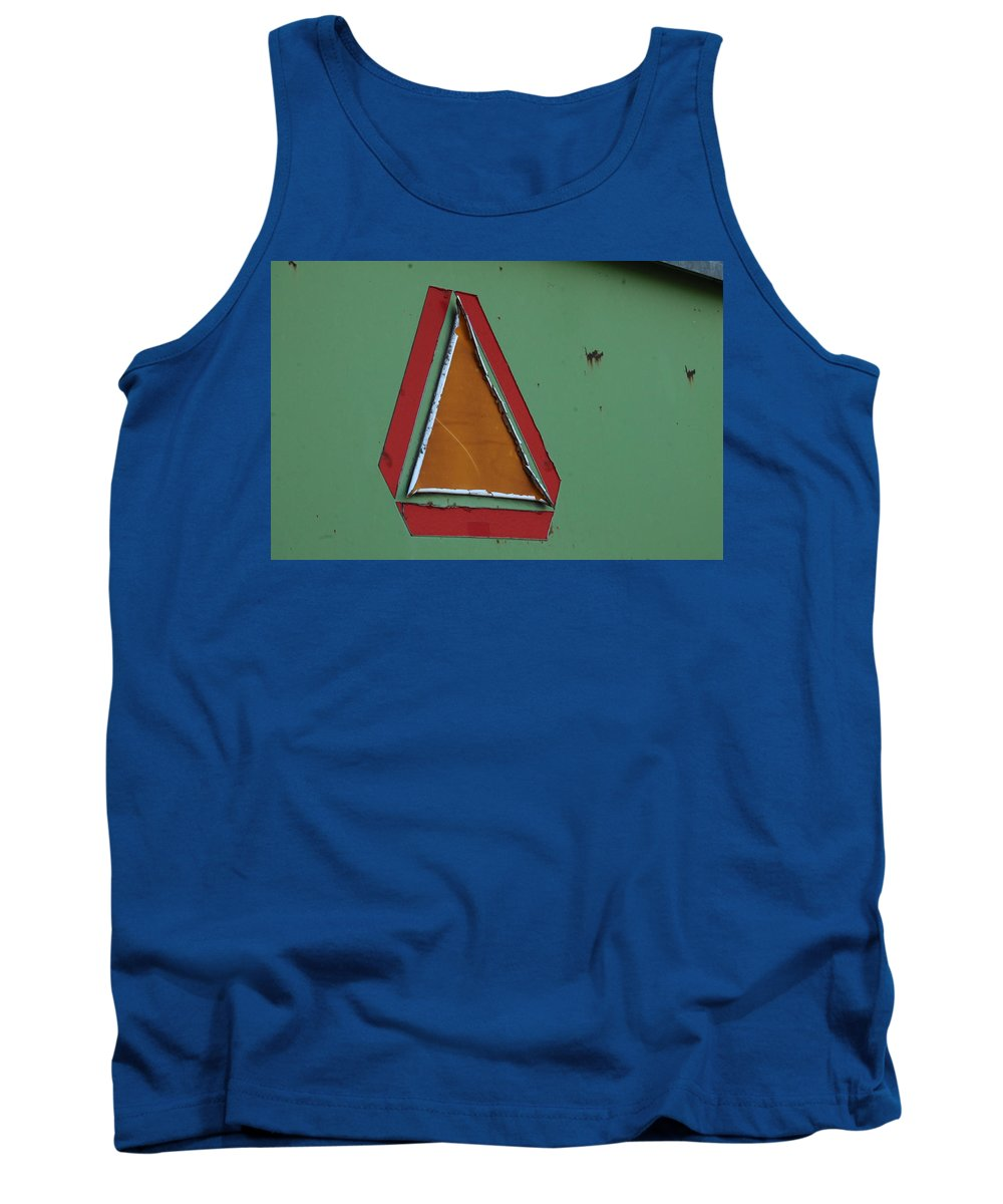 Agriculture Tank Top featuring the photograph Slow Moving Vehicle Sticker by Wayne Williams
