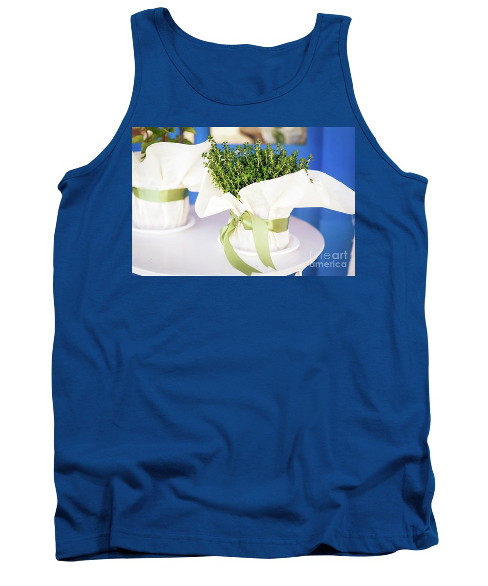 Bundle Tank Top featuring the photograph Somewhere In Greece by Ekaterina Molchanova