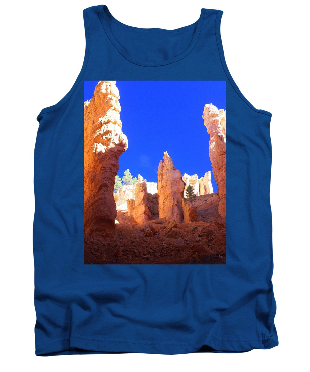 Bryce Canyon National Park Tank Top featuring the photograph Spires by Marty Koch