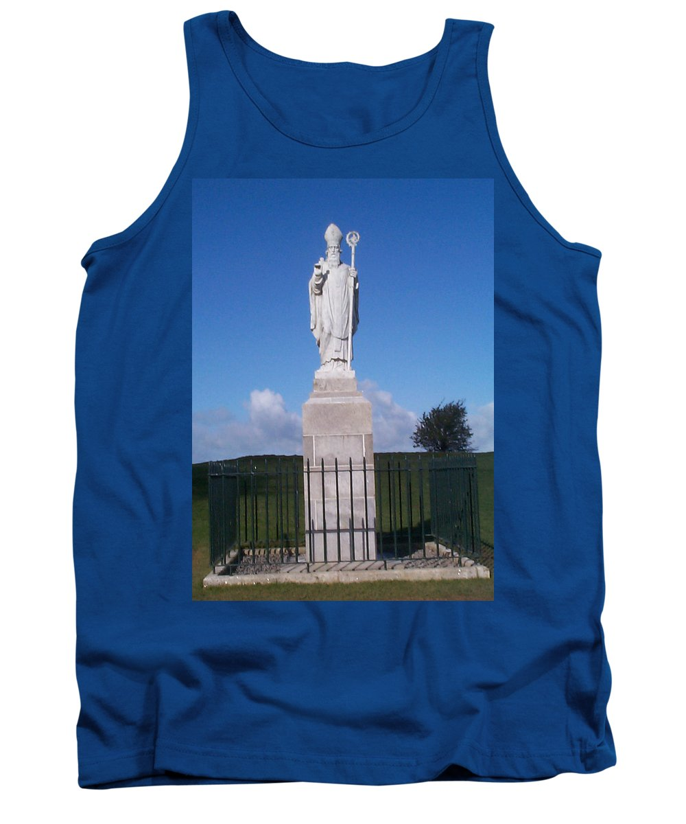St Patrick Tank Top featuring the photograph St Patrick by Charles Kraus