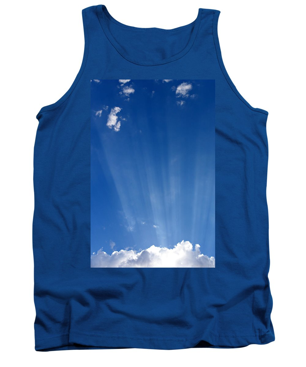 Sun Ray Tank Top featuring the photograph Sun Ray's by Scott Sawyer