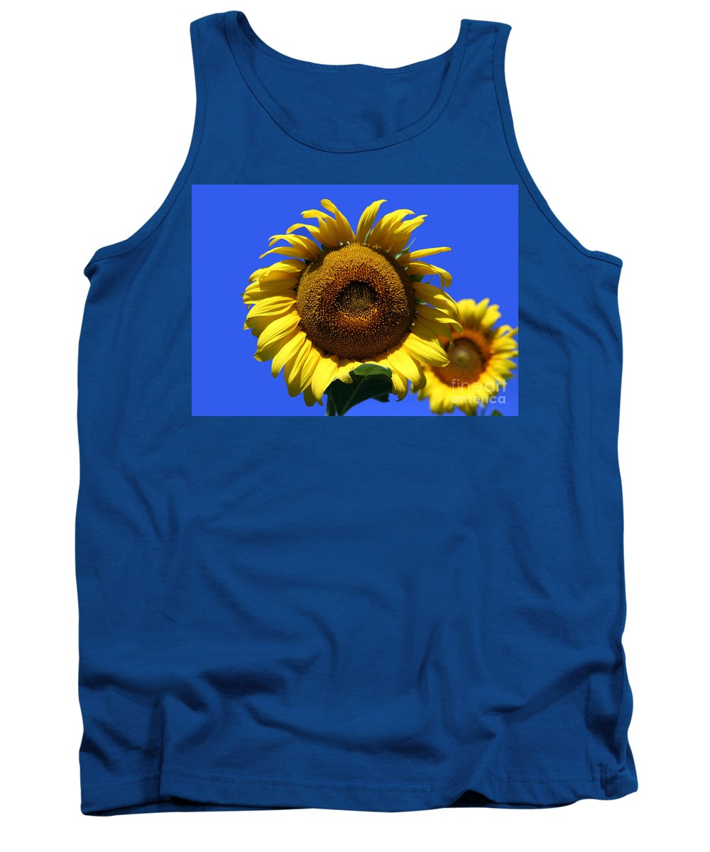 Sunflowers Tank Top featuring the photograph Sunflower Series 09 by Amanda Barcon