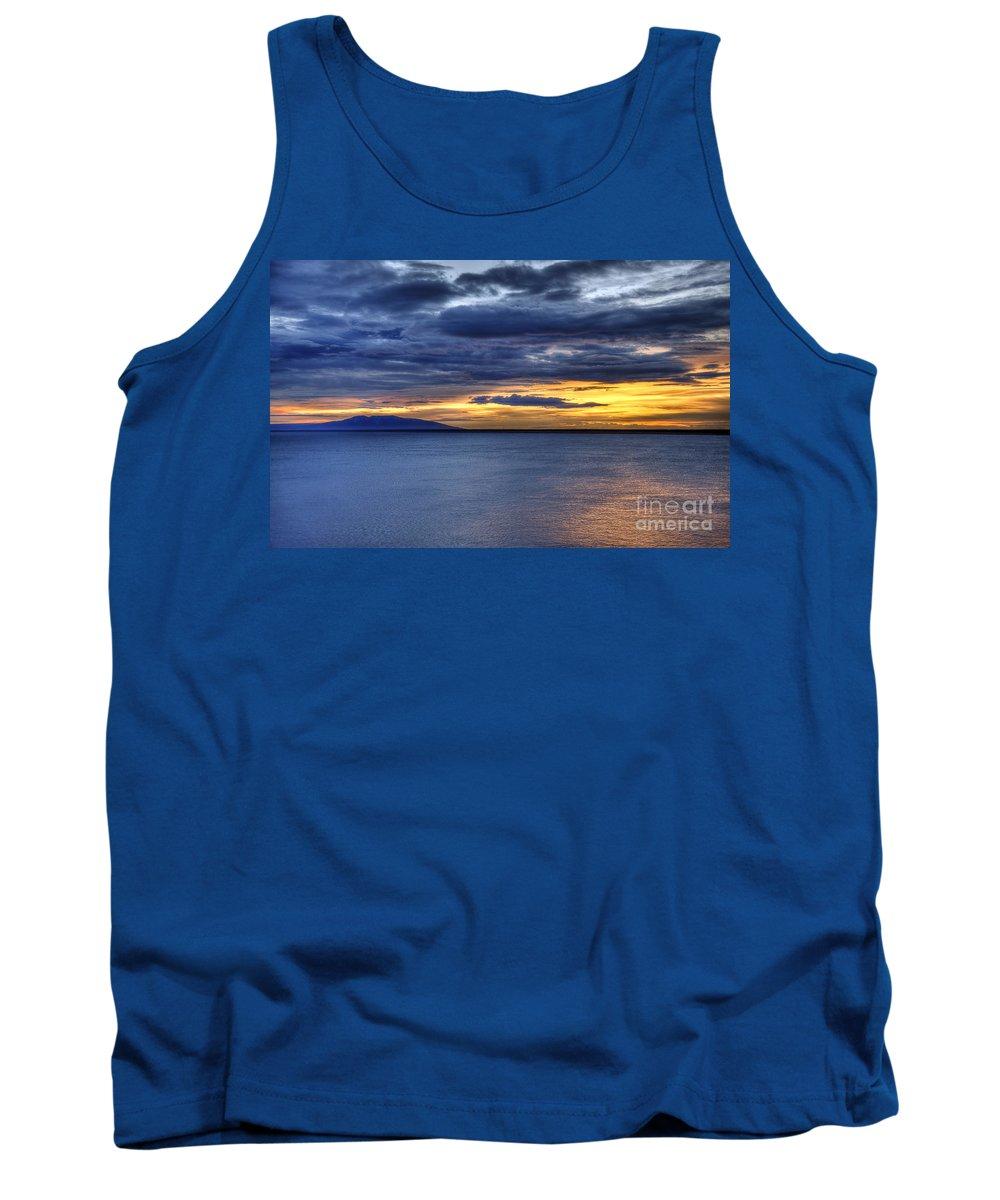 Landscape Tank Top featuring the photograph Sunset Seascape Alaska by John Greim