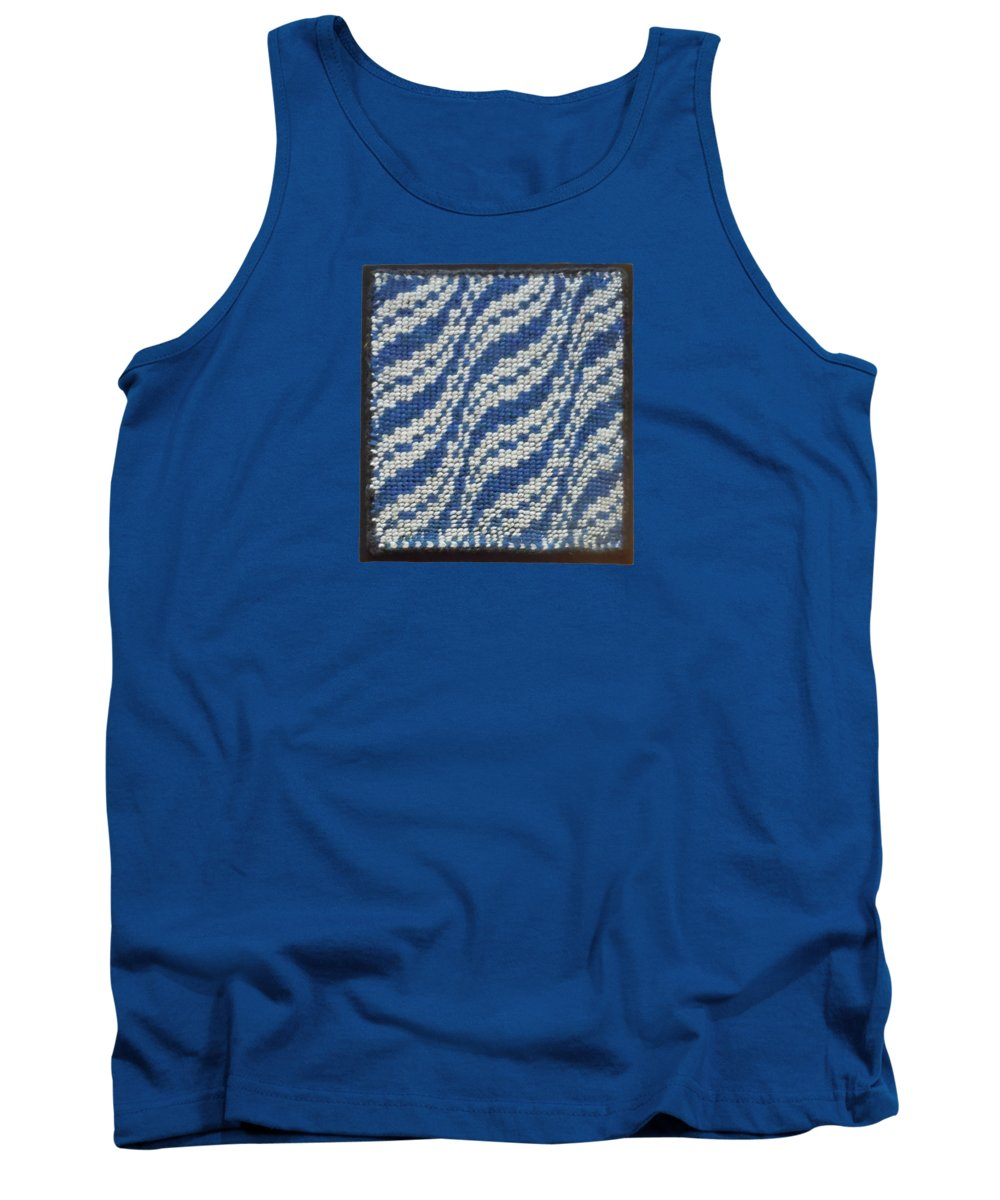 Taaniko Tank Top featuring the photograph Taaniko Ocean Waves Framed by Lori Russell