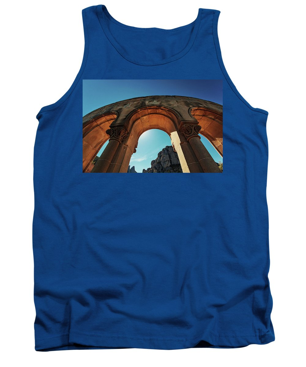 Spain Tank Top featuring the photograph The Arch by Ivica Drusany