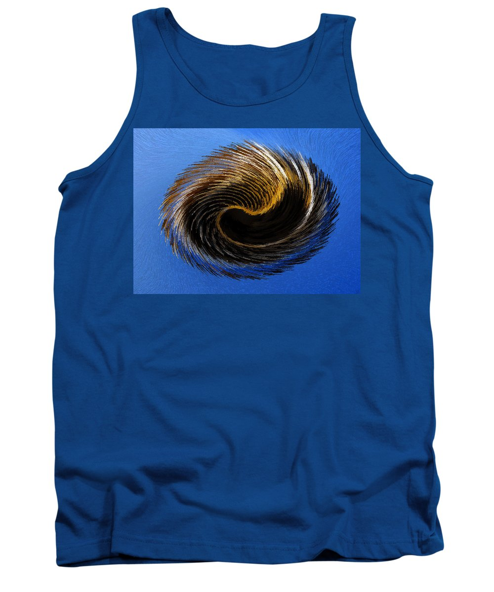 Artwork Tank Top featuring the painting The Digital Paintbrush by David Lee Thompson