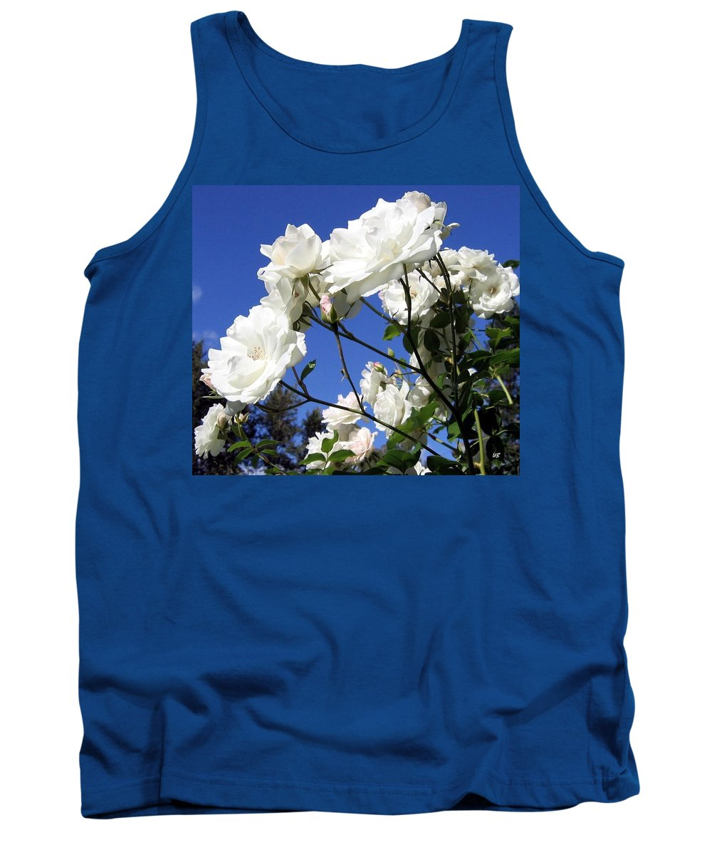Roses Tank Top featuring the photograph The Iceberg Rose by Will Borden