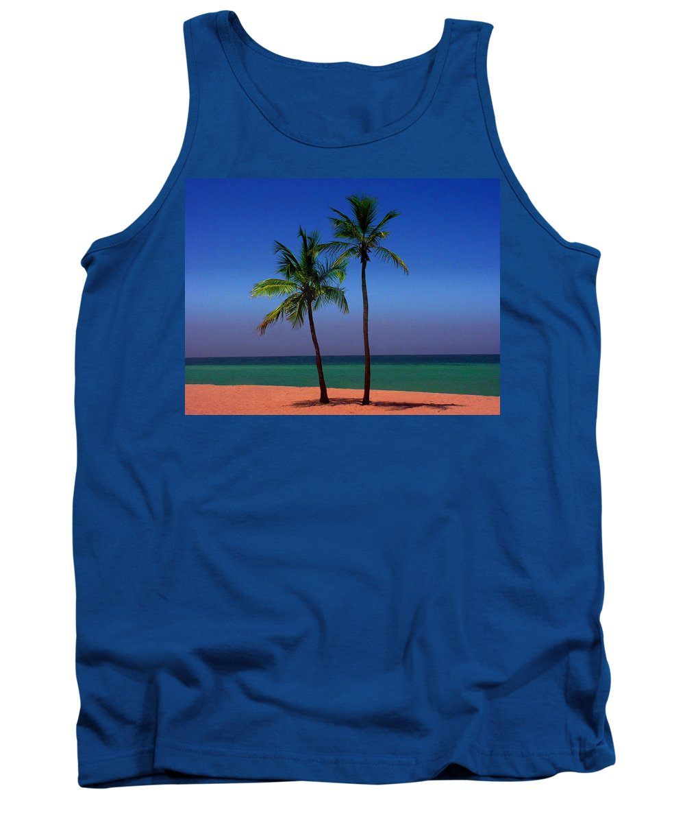 Photography Tank Top featuring the photograph Together by Susanne Van Hulst