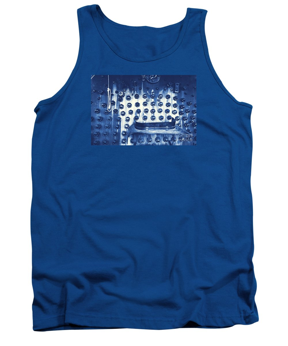Train Tank Top featuring the photograph Trains 4 3 by Jay Mann
