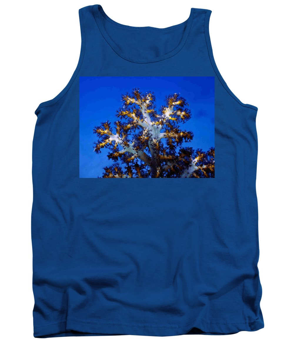 Coral Tank Top featuring the photograph Tree Coral by Dragica Micki Fortuna