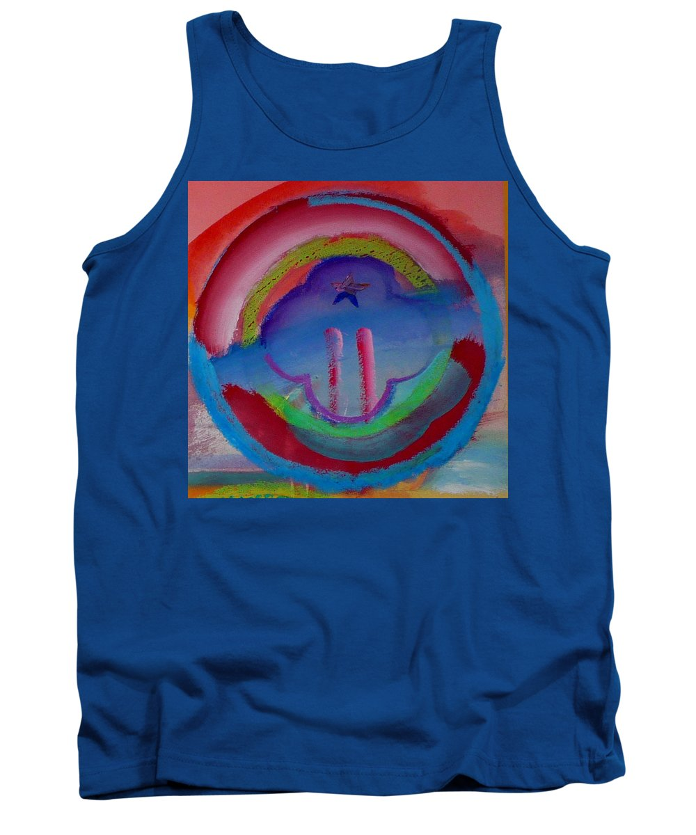 Logo Tank Top featuring the painting two by Charles Stuart