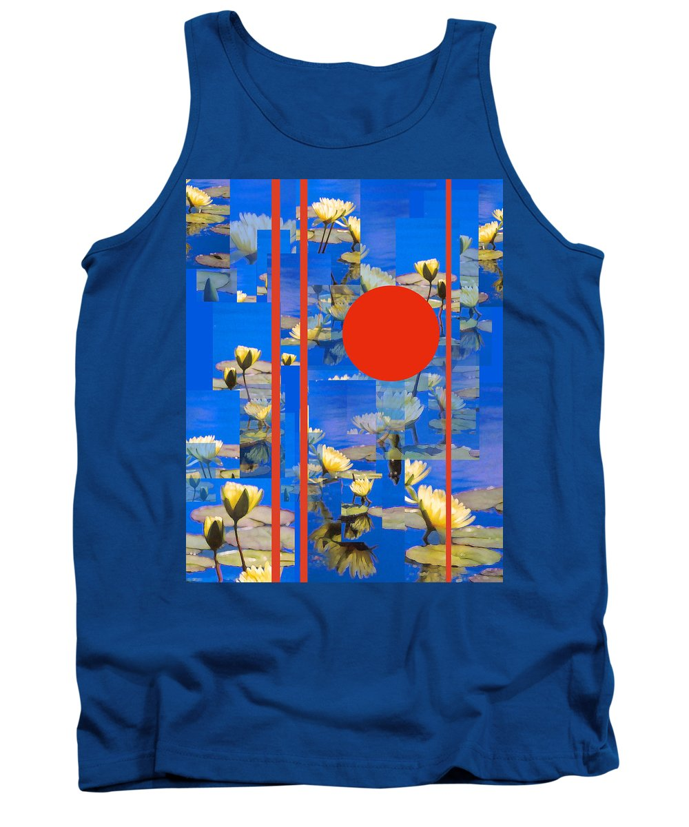 Flowers Tank Top featuring the photograph Vertical Horizon by Steve Karol