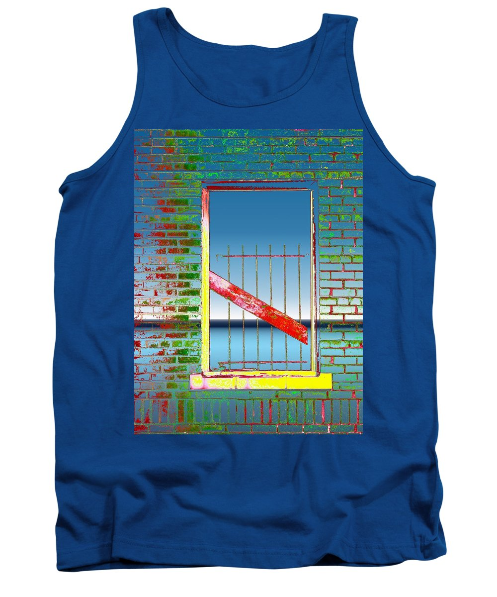 Window Tank Top featuring the photograph Water Window 2 by Tim Allen