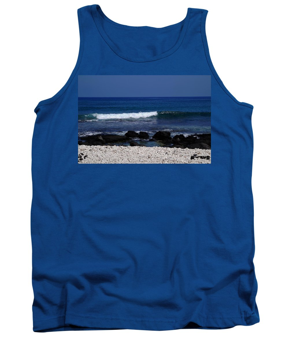 Paradise Tank Top featuring the photograph Waves In Paradise by Pamela Walton