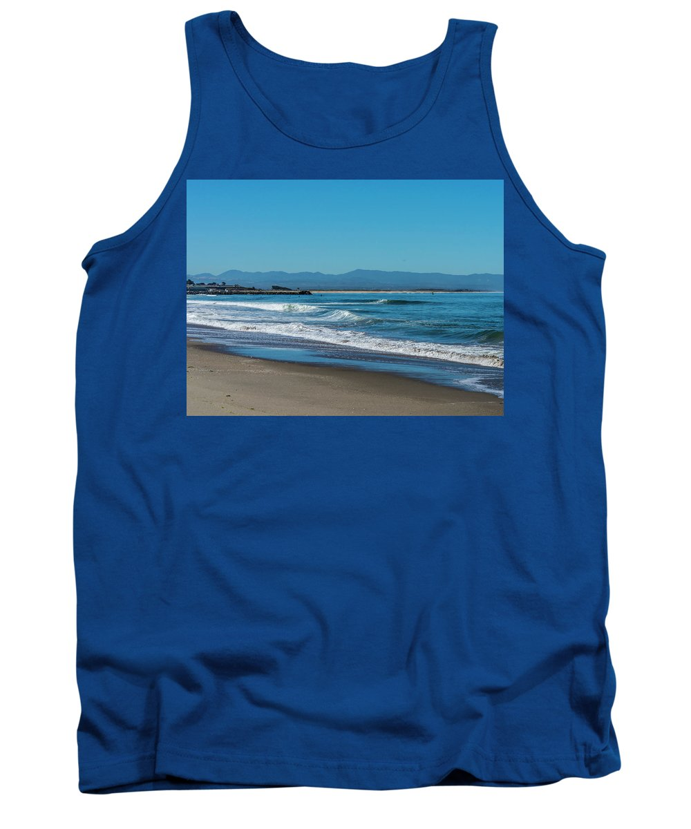 Sea Tank Top featuring the photograph Waves Of Hope by Mary Chris Hines