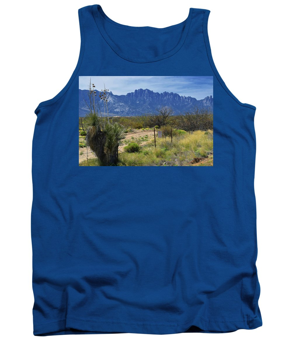 Landscape Tank Top featuring the photograph White Sands Missile Range by Keith Langerman