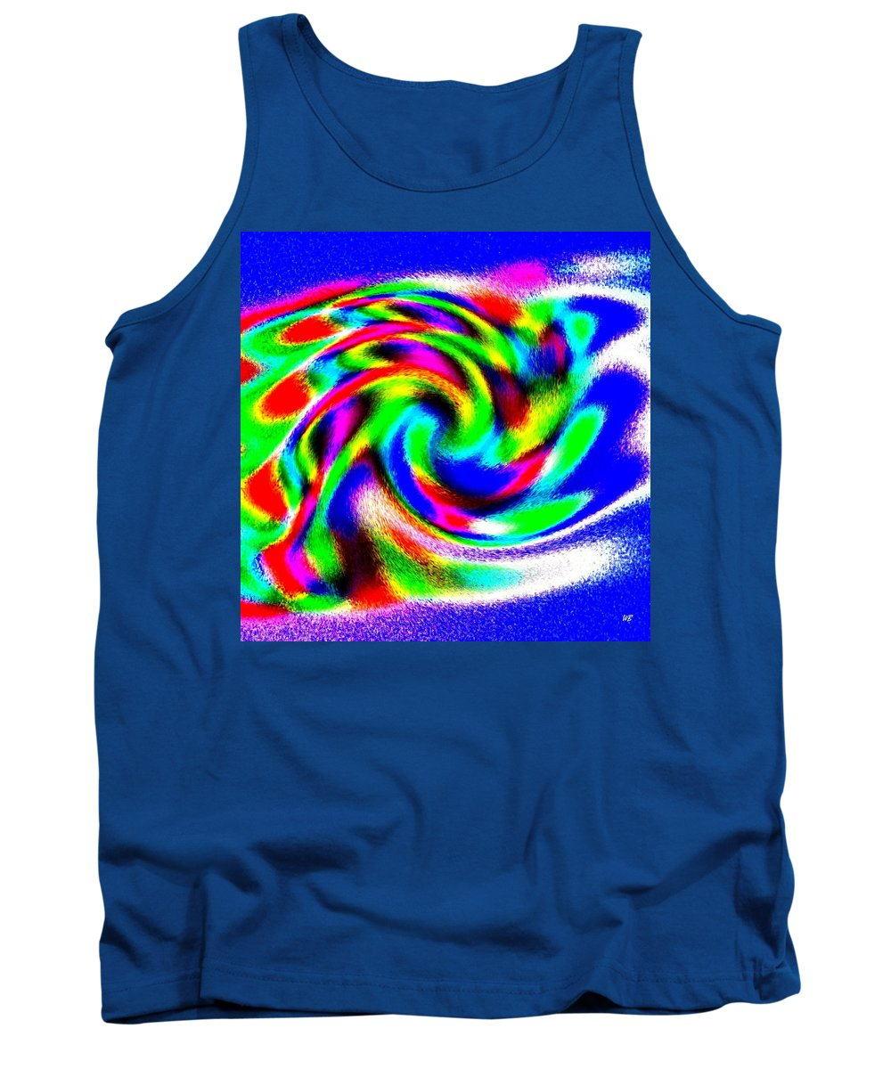 Conceptual Tank Top featuring the digital art Winter Call Of The North by Will Borden