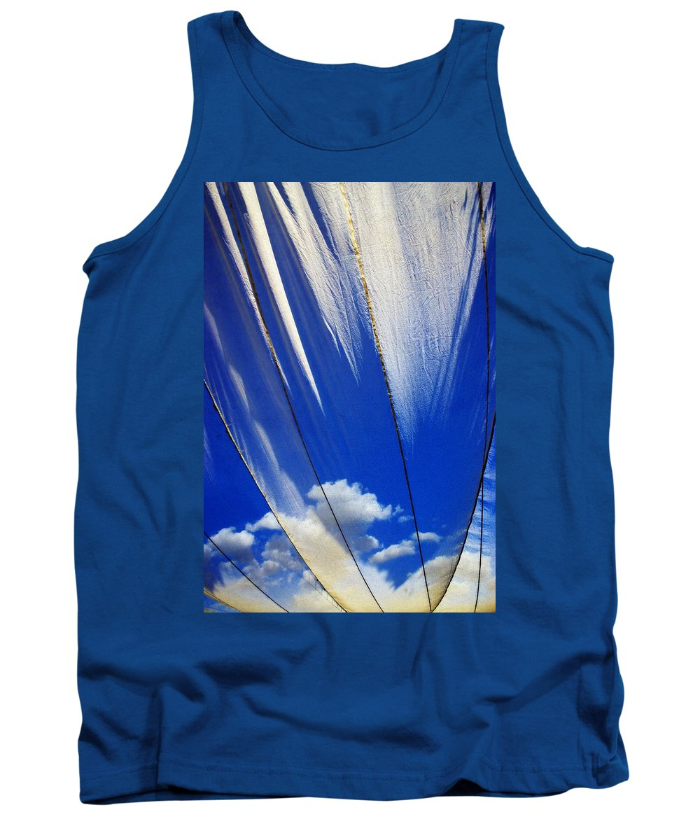 Heavenly Tank Top featuring the photograph Heaven by Skip Hunt