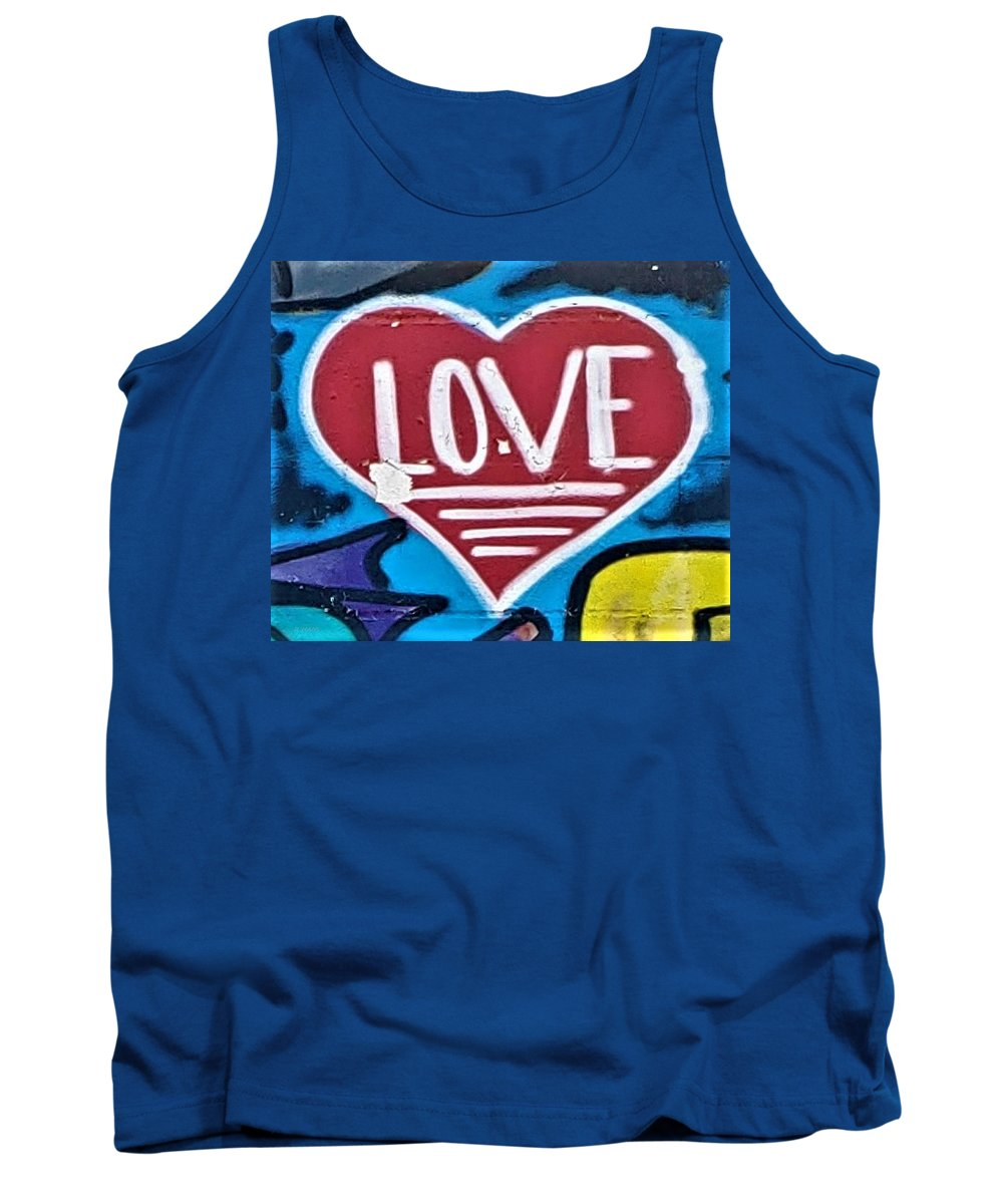 Love Tank Top featuring the photograph Urban Love Heart by Rob Hans
