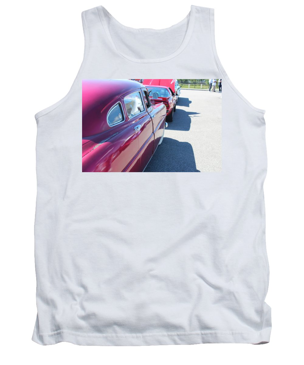 Tank Top featuring the photograph 1949 Hudson by R A W M