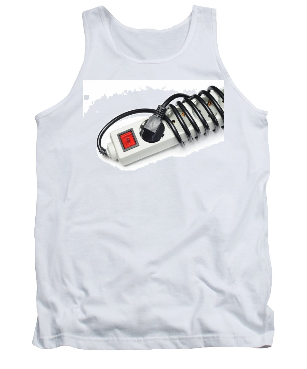 Europe Tank Top featuring the photograph Ac Power Plug And Sockets by Alain De Maximy