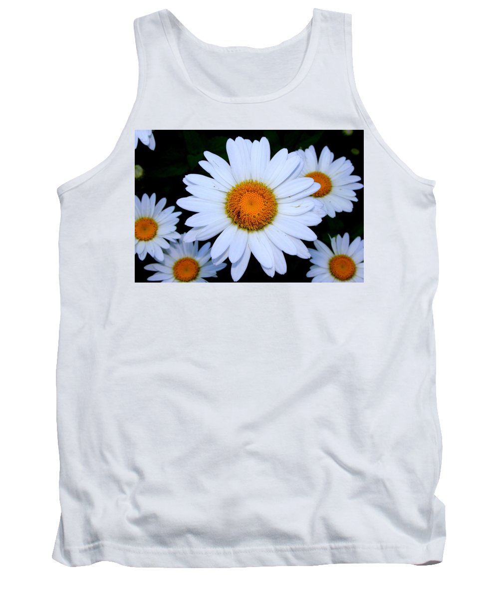 White Daisy Tank Top featuring the photograph Daisy by Shannon Louder