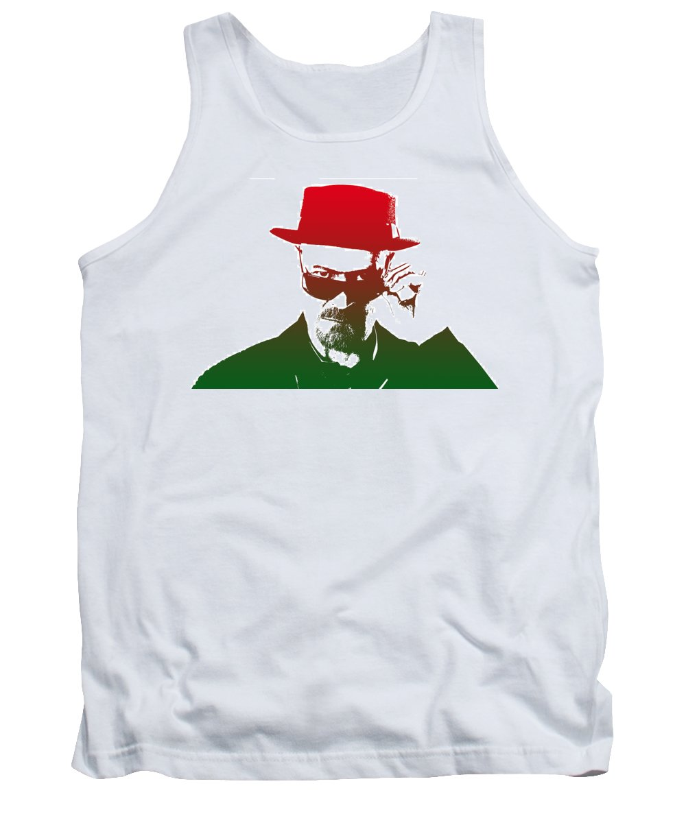 Breaking Bad Tank Top featuring the photograph Heisenberg - 2 by Chris Smith